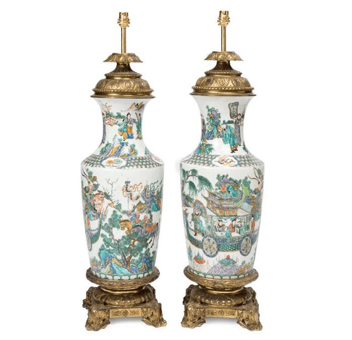 Ming Dynasty Porcelain Lamp Transport