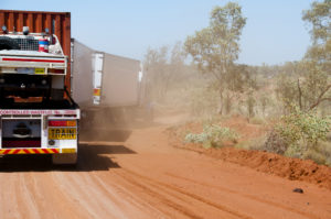 Triple Road Train with Ute